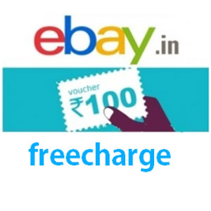 FreeCharge partners with eBay