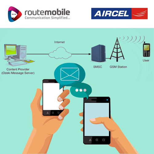 Route Mobile partners with Aircel to unveil SMSC-as-a-Service