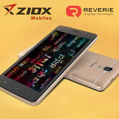 Ziox Mobile partners Reverie to support 22 Indian languages