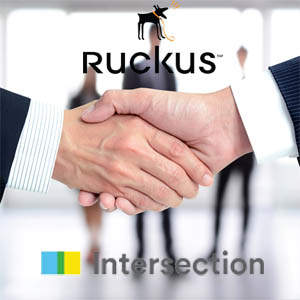 Ruckus Wireless partners with Intersection