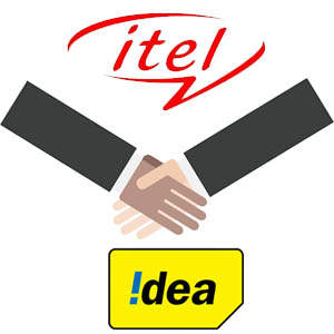itel partners with Idea Cellular
