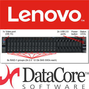 Lenovo partners with DataCore