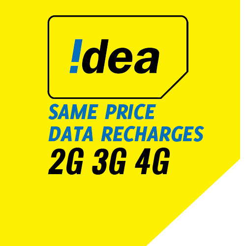 Idea to offers same price for data recharges across 2G, 3G or 4G