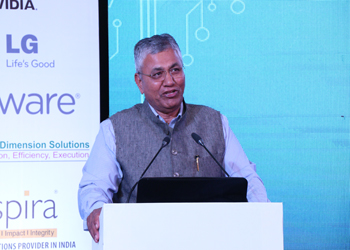 Shri P. P. Choudhury, Minister of State of Law, Justice and Electronics & IT, Govt of India