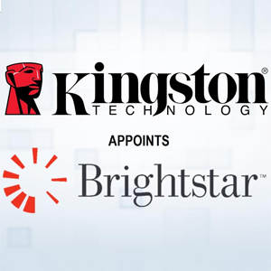 Kingston names Brightstar as Its National Distributor in India