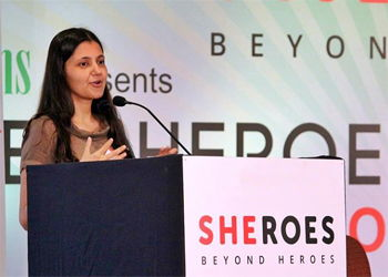 Sairee Chahal, Founder and CEO, SHEROES