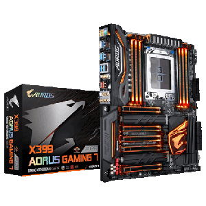 GIGABYTE introduces X399 AORUS Gaming 7 Motherboard