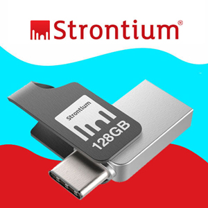 "Strontium introduces NITRO Plus OTG ""Type-C USB 3.1"""