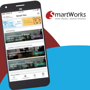 Smartworks launches its application to delight customers
