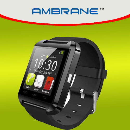 Ambrane to enter wearable market with Smartwatch ASW-11