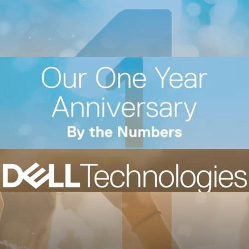 Dell Technologies celebrates 1 year of its historic merger with EMC