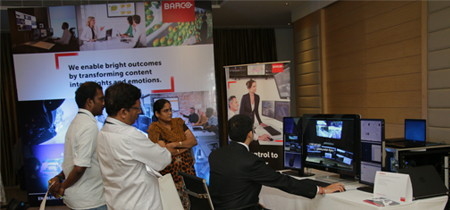 Barco hosts multicity roadshow to present OpSpace technology
