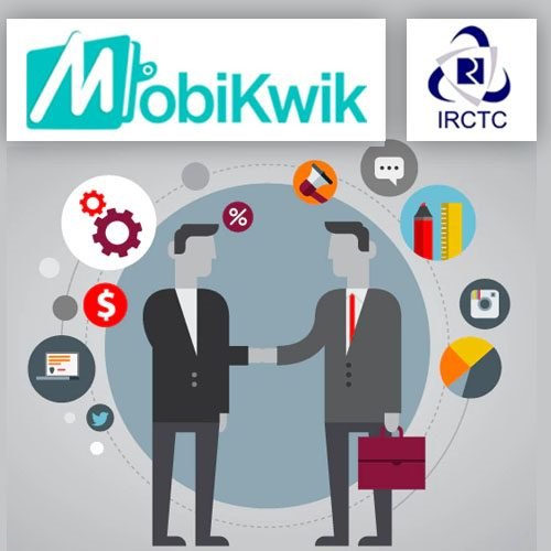 MobiKwik partners with IRCTC Rail connect app