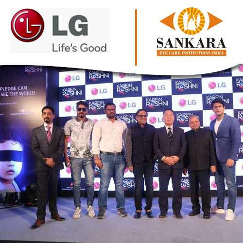 "LG, along with Sankara Eye Hospitals, launches ""KarienRoshni"" Initiative"