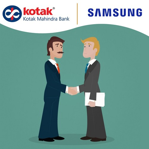 Kotak Mahindra inks partnership with Samsung India