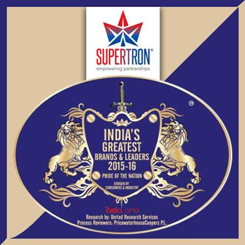 """5c1c330ac8e7 VARINDIA Supertron receives """"India s Greatest Brands   Leaders 2017 ..."""