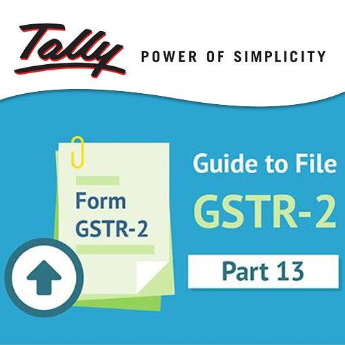 Tally announces Tally.ERP 9 Release 6.2 for SMEs to file GSTR 2 returns