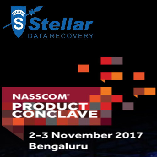 "Stellar Data Recovery to exhibit its latest software at ""NASSCOM Product Conclave 2017"""