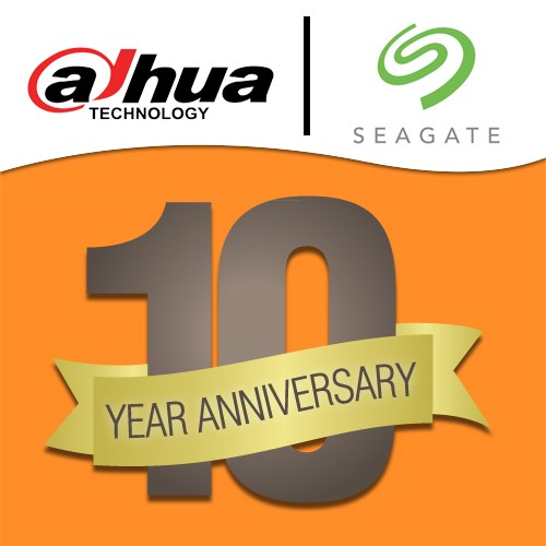 Dahua and Seagate celebrate 10 years of their business relationship
