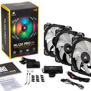 CORSAIR brings ML PRO RGB range of PC cooling fans