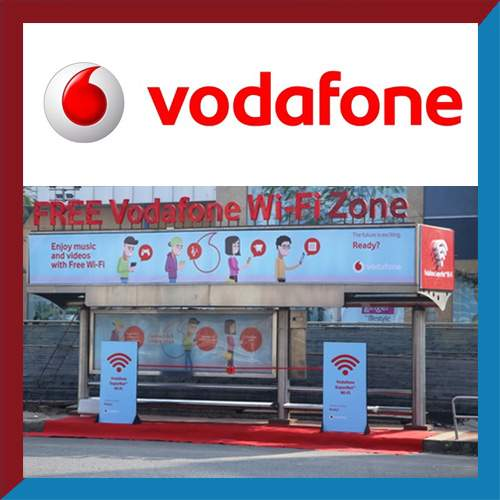 Vodafone sets up Wi-Fi-enabled bus shelter at Noida