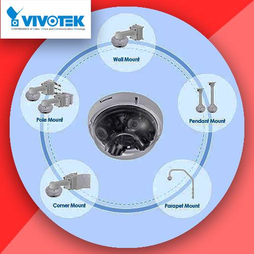 VIVOTEK launches multi-adjustable sensor dome camera – MA8391-ETV