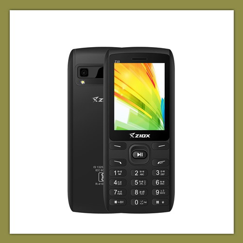 Ziox Mobiles launches One in All Feature Phone Z10 at Rs.1,680/-