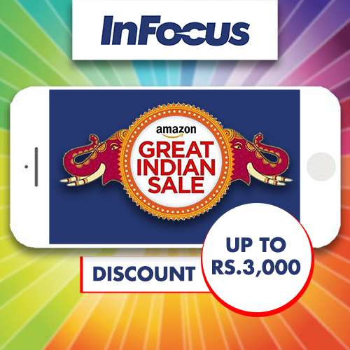 InFocus announces discount of up to Rs.3,000 on its devices at Amazon Great Indian Sale