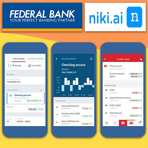 Federal Bank partners with Niki.ai to unveil a Chatbot-based virtual assistant in its Banking app