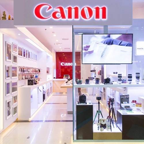 Canon opens new retail outlet in India