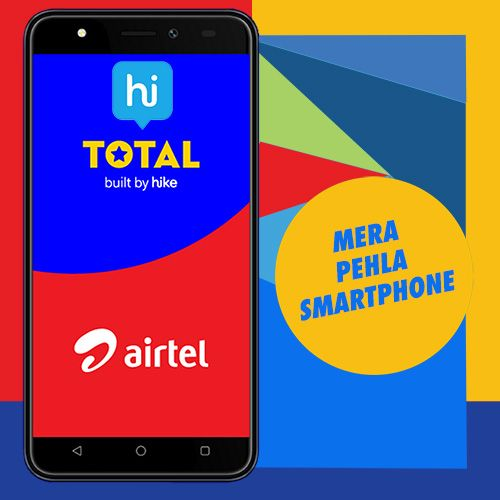 """VARINDIA Hike and Airtel to offer """"Total, built by Hike"""" on"""