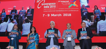 26th Convergence India 2018 expo gets underway in New Delhi