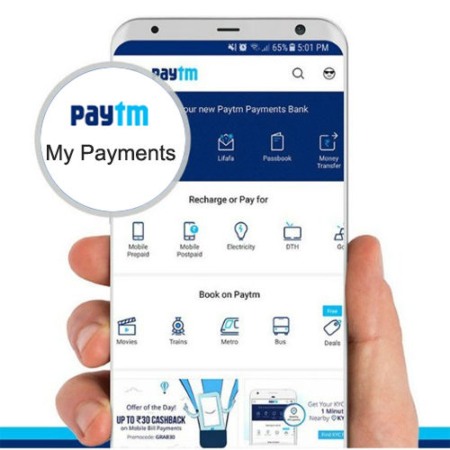 "Paytm with its ""My Payments"" app aims for Rs.60,000-crore bank transfers"