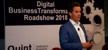 "Quint Wellington Redwood conducts roadshows on ""Digital Business Transformation"""