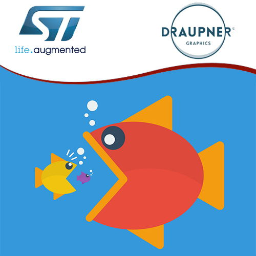STMicroelectronics takes over Draupner Graphics