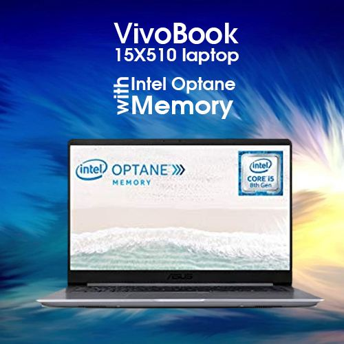 ASUS launches VivoBook 15 X510 laptop with Intel Optane Memory