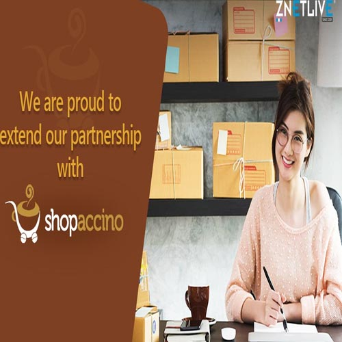 ZNetLive joins hands with Shopaccino to facilitate selling anything, anywhere