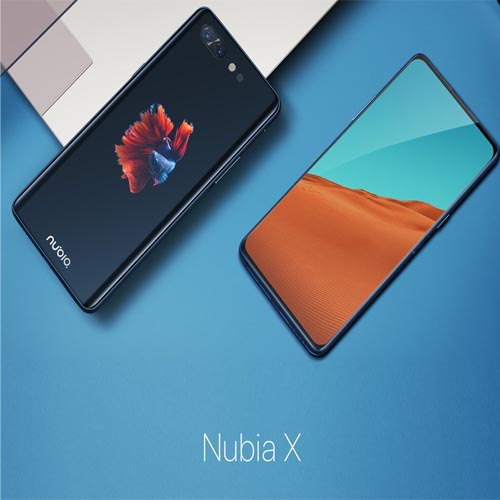 nubia debuts its flagship phone nubia X in China with two touchscreen displays