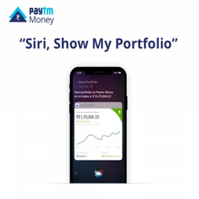 Paytm Money integrates its iOS users with Siri