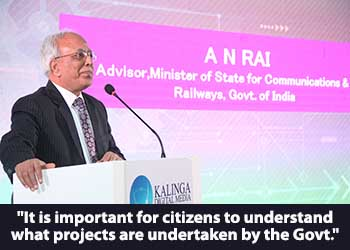 A N Rai, Advisor to Minister of State for Communications and Minister of State for Railways, Govt. of India at 17th Star Nite Awards 2018