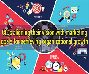 CIOs aligning their vision with marketing goals for achieving organizational growth