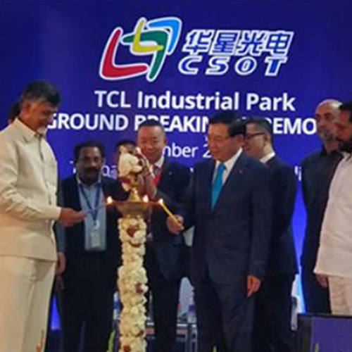 TCL to construct its first overseas smart manufacturing industrial park in Tirupati