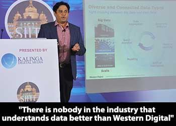 Harsha N, Enterprise Business Development Manager - Western Digital at 9th SIITF 2018
