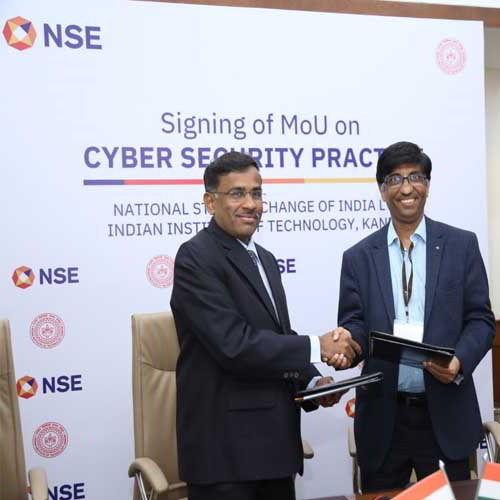 NSE inks an MoU with IIT Kanpur to strengthen its cyber security solutions