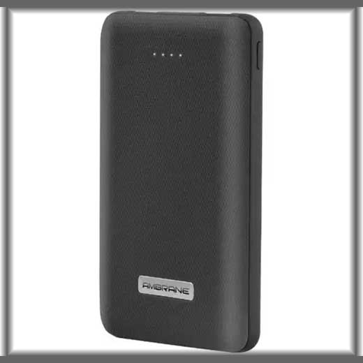 Ambrane unveils its 10,000mAh PP-101 Power Bank, priced at Rs.1,799/-