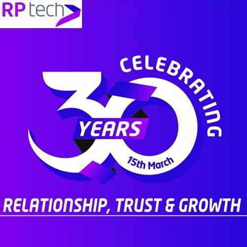 RP tech India observes its 30th anniversary in ICT industry