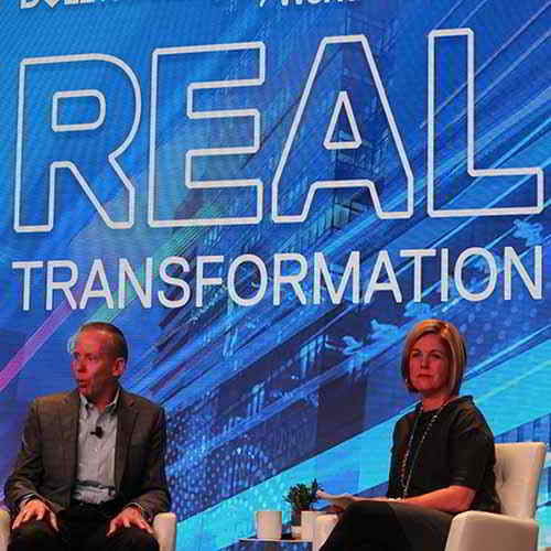 We are spending roughly 4.5% of revenues on R&D: TOM SWEET, CFO, Dell Technologies