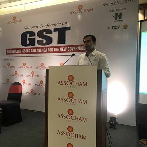 Tally Solutions attends the ASSOCHAM National Conference on GST