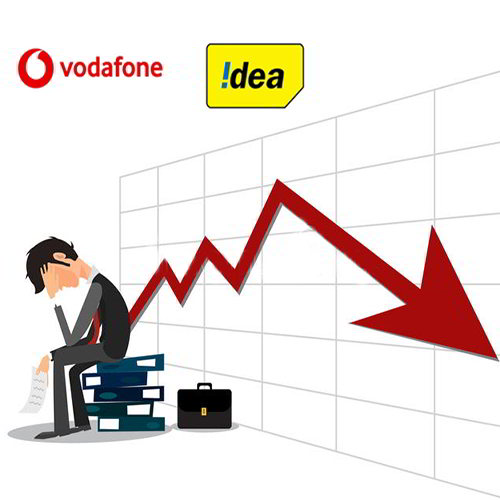 Vodafone Idea is down with Rs 4881.9 Crore In Q4