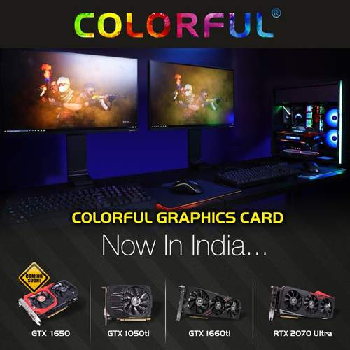 RP tech India joins hands with Graphics Cards Brand Colorful